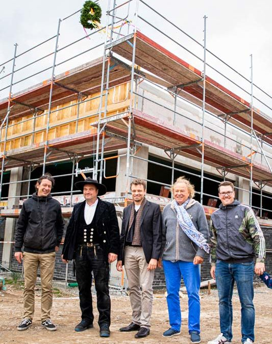 Richtfest für einen neuen ALDI in Bad Freienwalde